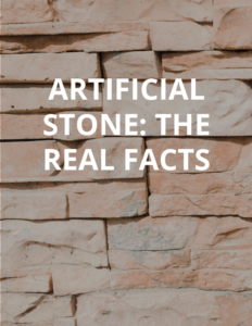 Artifical Stone Facts