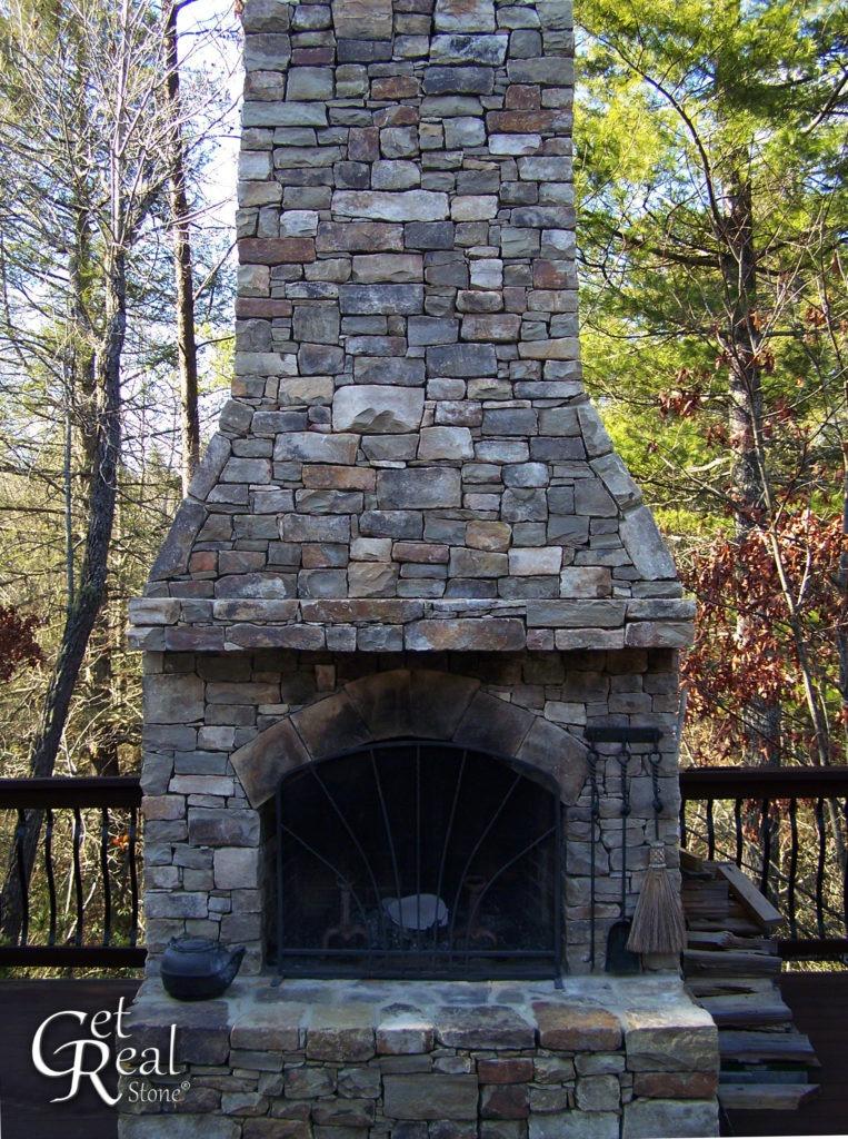 Tennessee Fieldstone Snapped Medium Wallstone