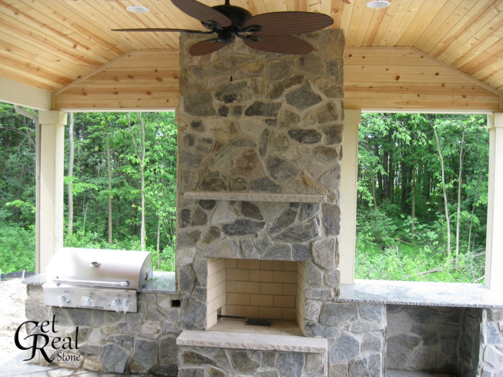 Coyote Gray Mosaic. Pigeon Forge Hearth & Mantel