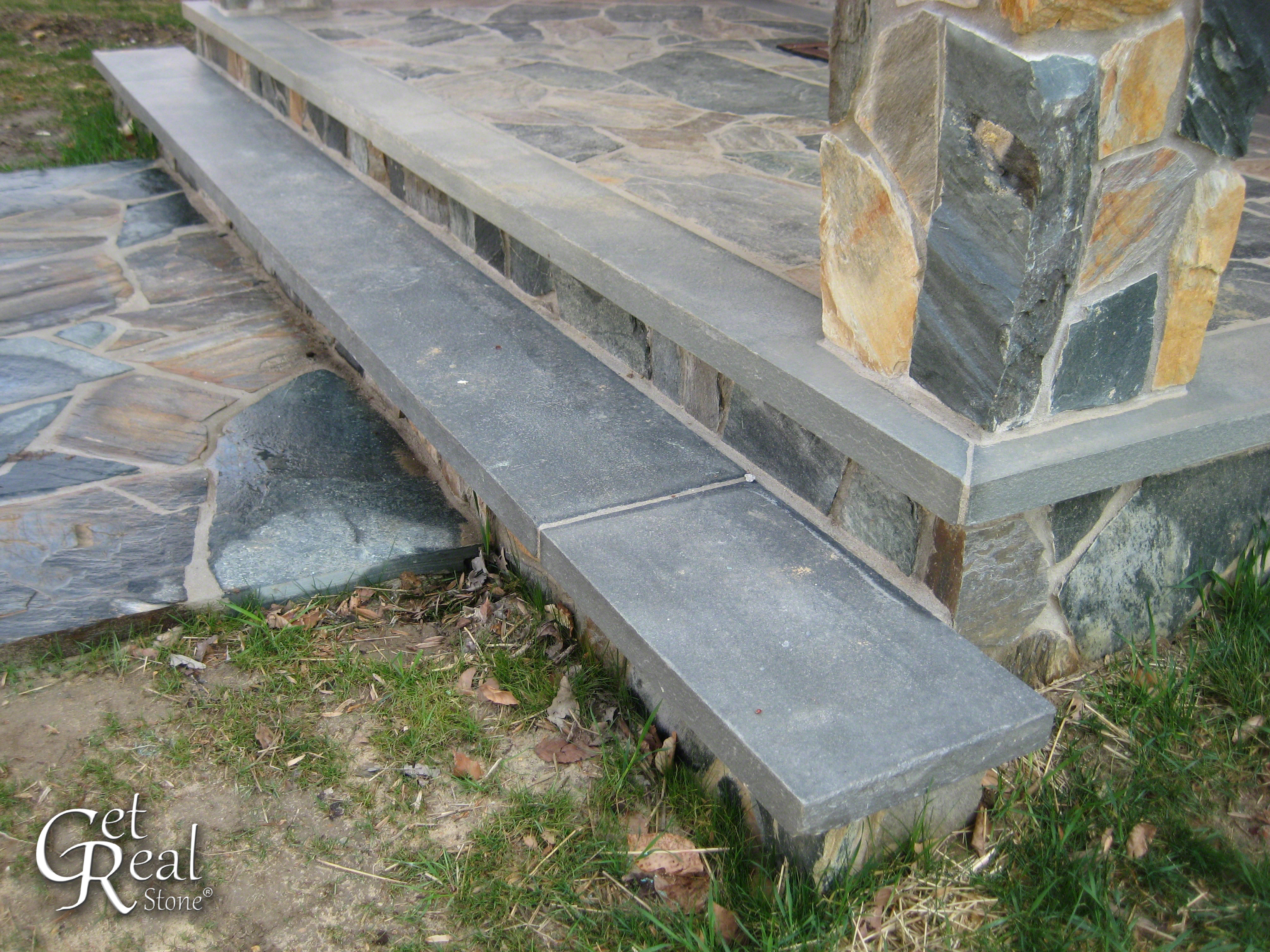 Pennsylvania Bluestone Treads