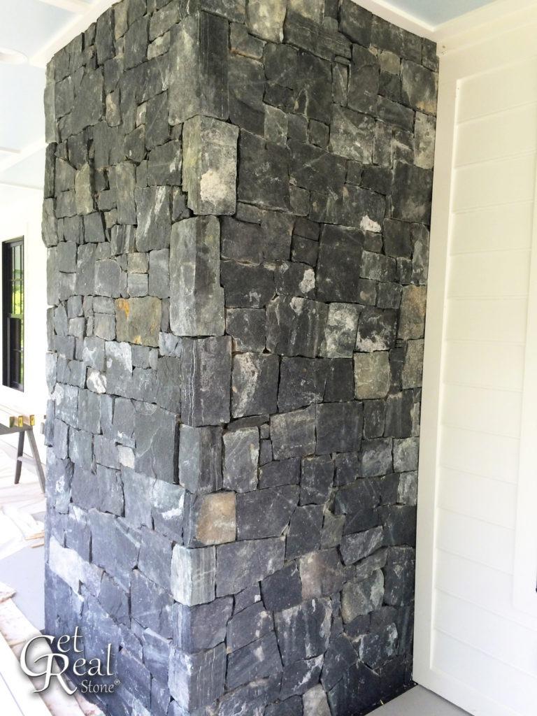 Black Regency Snapped Medium Wallstone