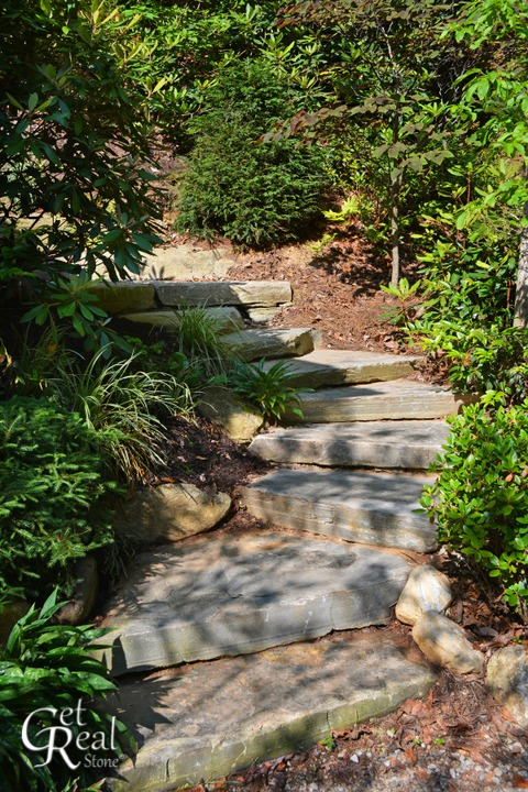 Coyote Gray Natural Steps