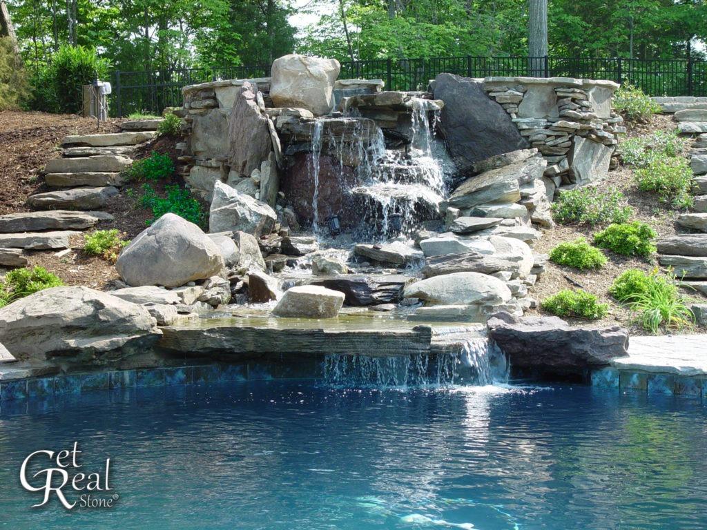 Coyote Gray Waterfall Rock