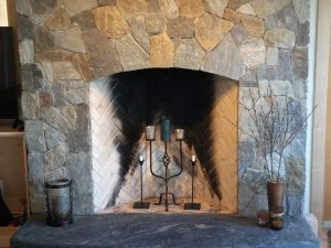 A Blend of Coyote Gray, Gatlinburg and Catawba Mosaic. Southern Eclipse Hearth